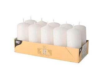 velas Hygge de color blanco